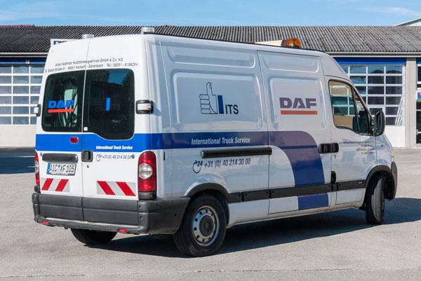 Ein Service-Mobil